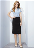 Biz Corporates Ladies Relaxed Fit Lined Cool Stretch Skirt