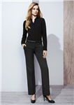 Biz Corporates Ladies Hipster Fit Cool Stretch Pants