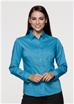AP Business Ladies Long Sleeve Mosman Shirt